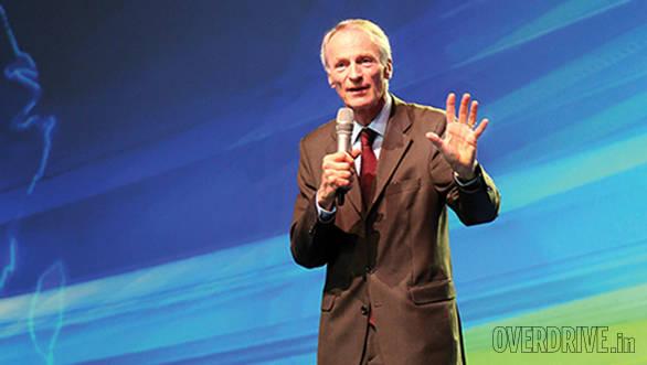 Jean-Dominique Senard, CEO of Michelin Group sums up Challenge Bibendum at the closing address