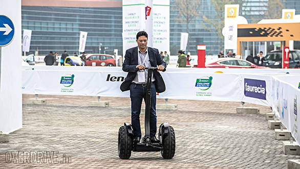 A Chinese version of the Segway at less than half the price
