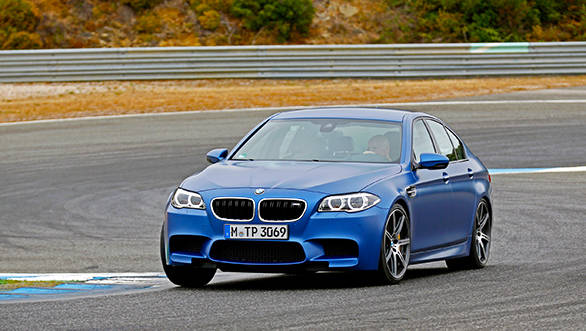 The_new_BMW_M5_a