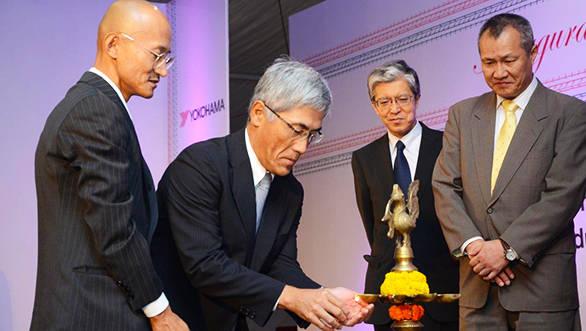 Yokohama_India_Plant_Launch_