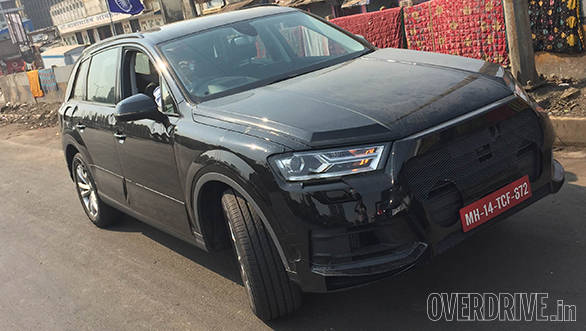 Exclusive Video: 2015 Audi Q7 caught testing in India