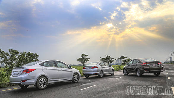 Ciaz vs City vs Verna (1)