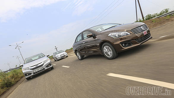 2014 Maruti Ciaz vs Honda City vs Hyundai Verna