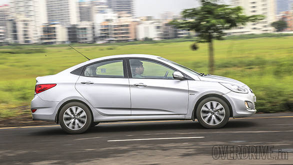Verna's sloping roof is coupe-ish, overall design is still striking