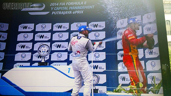 Second race of the 2014 Formula E concludes in Putrajaya