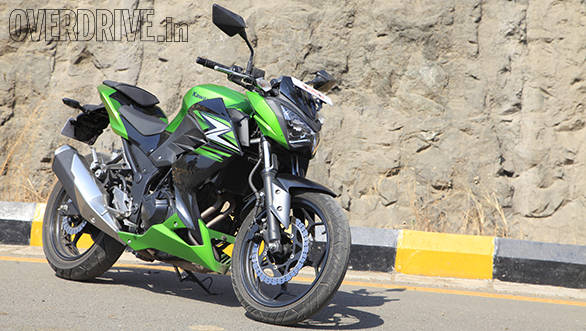 Kawasaki Z250 India First Ride Review Overdrive