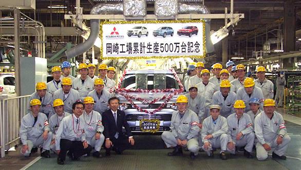 Mitsubishi Motors crosses the 50 lakh cars produced milestone