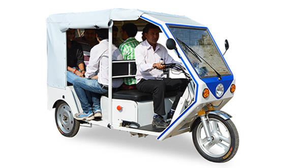 India-bound Terra R6 electric autorickshaw unveiled