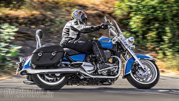 2015 Triumph Thunderbird LT India road test review