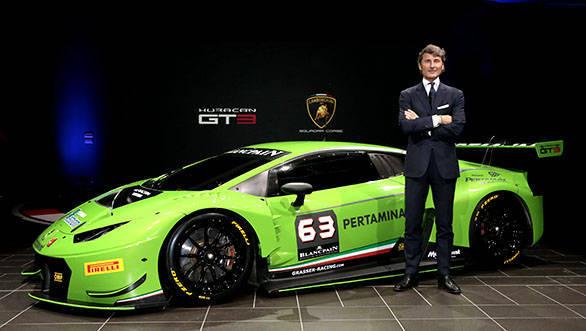 Lamborghini Hurracan GT3 Stephan Winkelmann