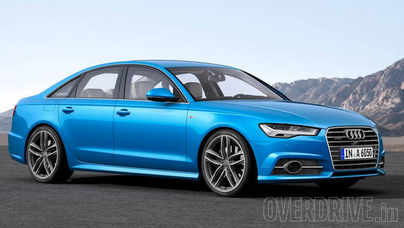 Exclusive Video 2015 Audi A6 Facelift Caught Testing In