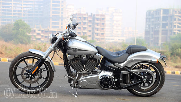 2015 Harley Davidson Breakout India first ride review Overdrive