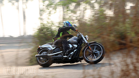2015 Harley-Davidson Breakout India first ride review