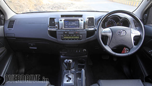 2015 Toyota Fortuner 3 0l 4x4 automatic review - Overdrive