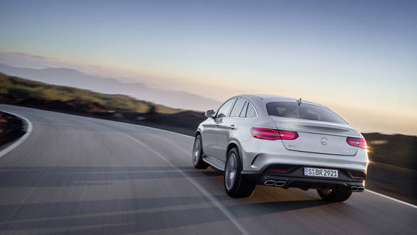 S-Class Coupe like tail-lamps make the GLE63 AMG look unique and unlike any other Merc sold in India at the moment