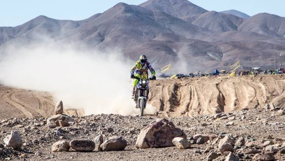 Seventh overall for Alain Duclos after eight stages of the 2015 Dakar Rally