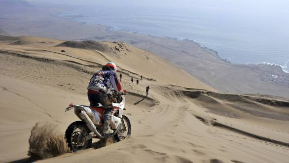 Dakar 2015: CS Santosh classified 55th in Stage 9