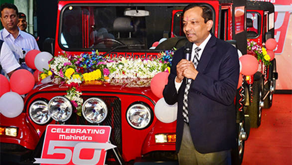 Mahindra Auto 5 millionth Thar