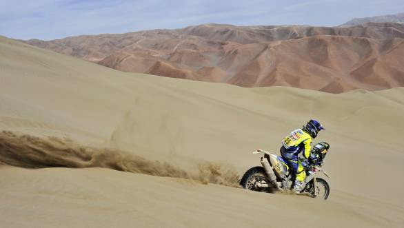 Dakar 2015: Disaster strikes Sherco TVS on Stage 9