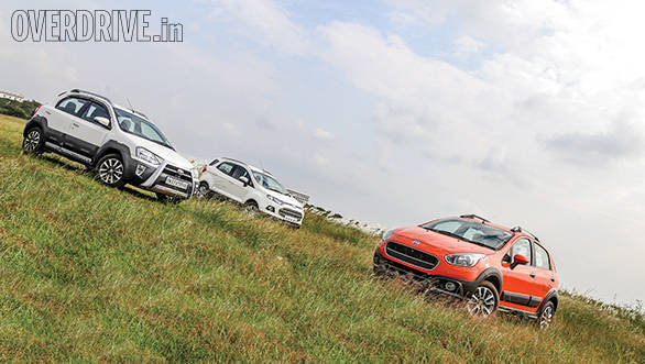 Comparison: Toyota Etios Cross vs Ford EcoSport vs Fiat Avventura