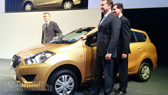 Datsun Go+ launched