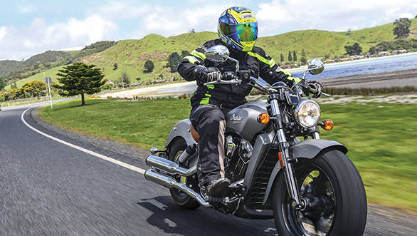 Indian Scout New Zealand