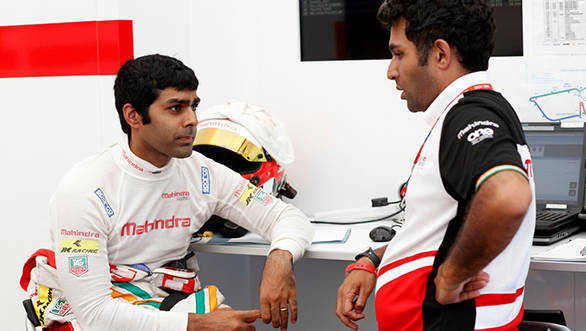 Karun Chandhok Formula E Team Mahindra Racing Argentina