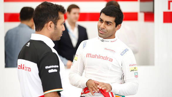 Karun Chandhok in Team Mahindra Racing