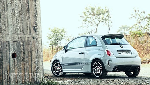 The Competizione also gets wgat Abarth calls a Record Monza exhaust which essentially reduces back pressure and produces a sweeter note.