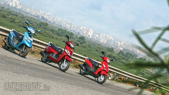 Fabulous Comparison Mahindra Gusto Vs Suzuki Lets Vs Tvs Scooty Ncnpc Chair Design For Home Ncnpcorg