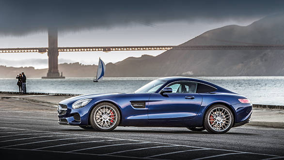Mercedes-AMG GT to be launched in India in March 2015