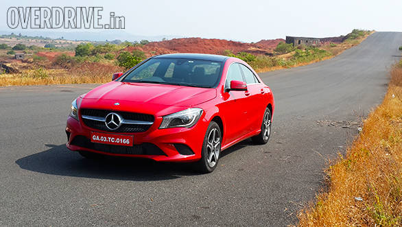 2015 Mercedes Benz CLA Review India