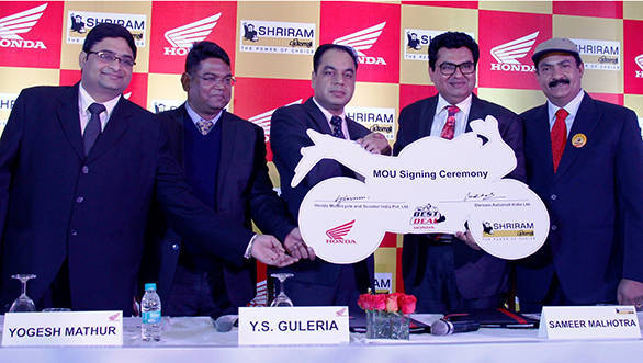 Honda partners with Sriram Automall