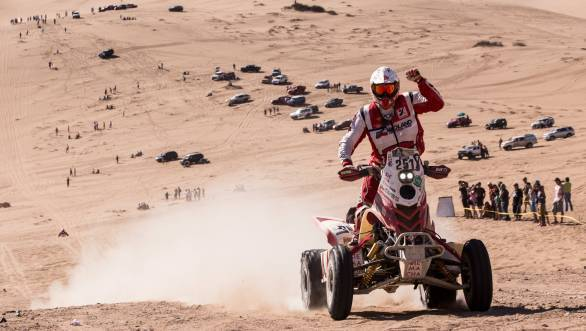 Rafal Sonik will look to defend his title in the quad class from Igancio Casale