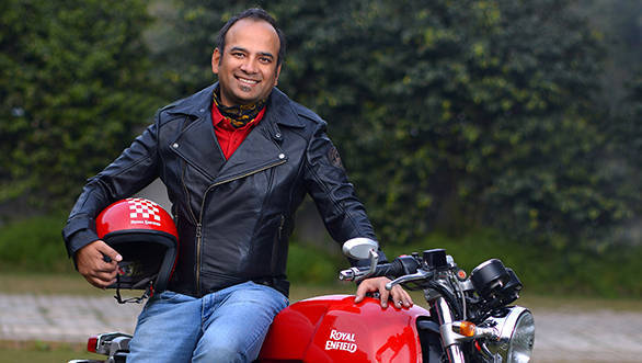 Rudratej Singh appointed as new president of Royal Enfield