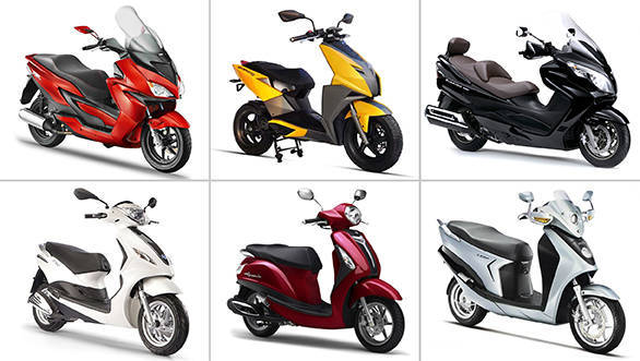 Scooters coming to India in 2015