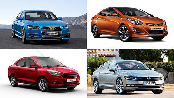 New sedans coming to India in 2015