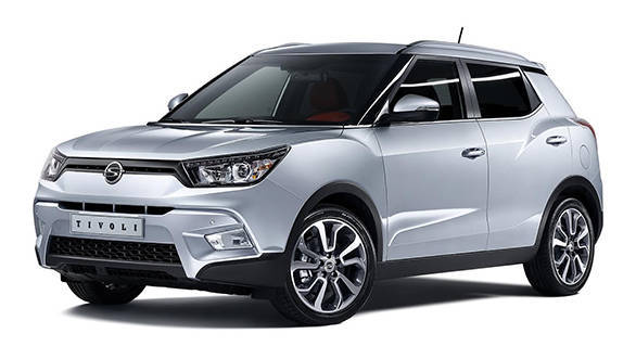 The handsome Tivoli will compete with the EcoSport, Duster, S-Cross and Creta if launched in India