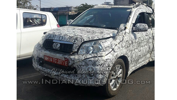 The Toyota Rush was recently caught on test in Maharashtra, India