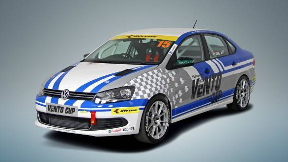 For 2015 the Volkswagen Vento Cup replaces the Polo-R Cup that has run for five seasons