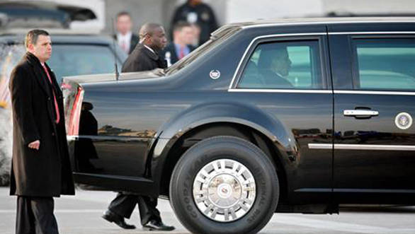 The official limousine of the US President, the Beast, to ply on Delhi roads