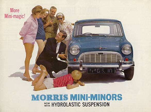 The original Mini from the 60s was called the Morris Mini-Minor