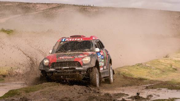Third stage win for Orlando Terranova at the 2015 edition of the Dakar