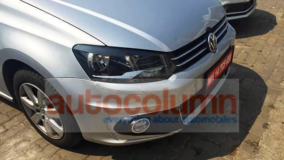 2015 Volkswagen Vento facelift spied (3)