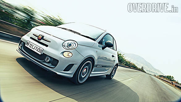 Fiat 500 Abarth teased on the Fiat India website