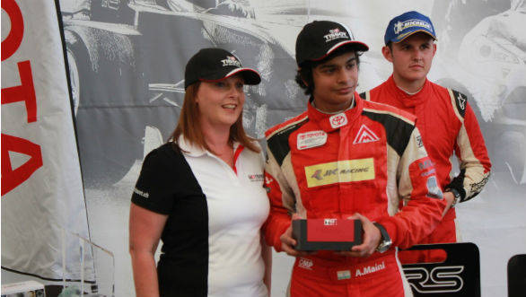 Arjun Maini with lady