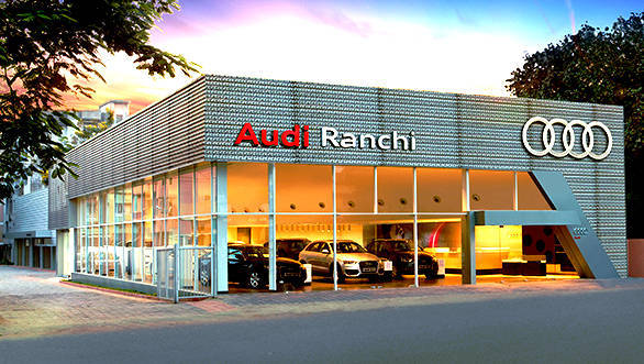 Audi India opens its first showroom in Jharkand