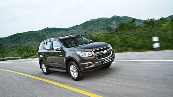 General Motors India to launch the Chevrolet Trailblazer SUV in 2015 and the Spin MPV in 2016