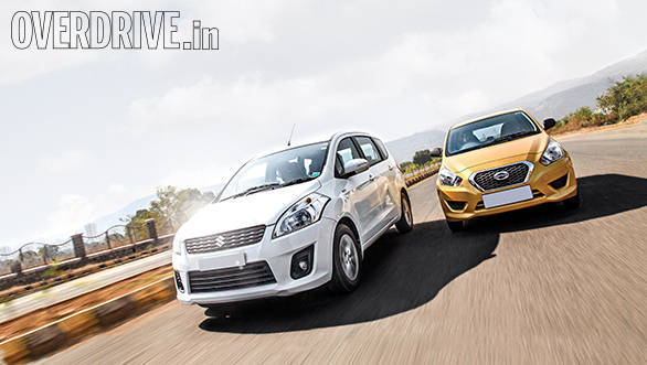 Datsun Go+ vs Maruti Ertiga vs Honda Mobilio (5)