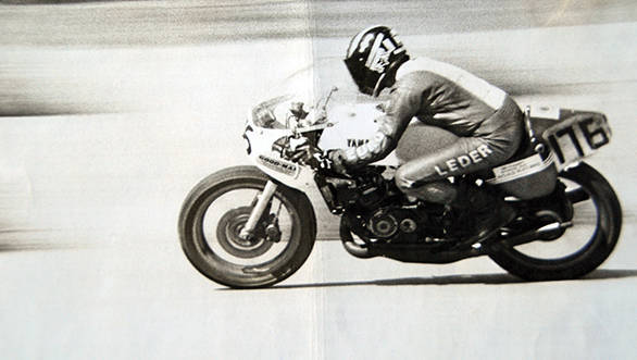 Somender Singh raced in the 1970s and gathered many a trophy